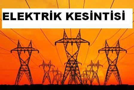 Çubuk'a Yarın Elektrik Yok
