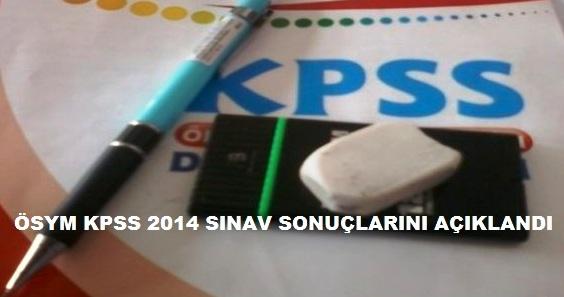 Kpss 2014 Sınav Sonuçları Açıklandı
