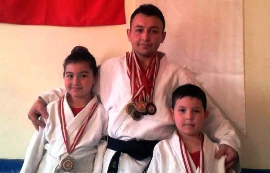 Çubuk'tan Judo Şampiyonu Çıktı