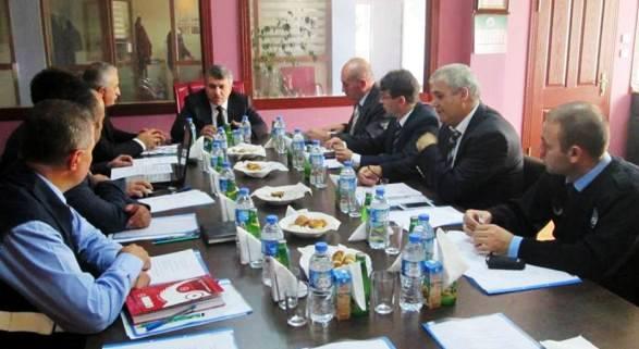 Ankara Zabıtası Çubuk'ta Toplandı