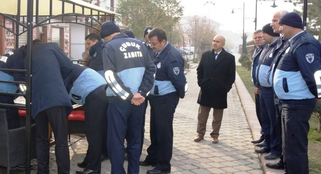 Kaldırım İşgali ve Seyyar Tezgâh Operasyonu