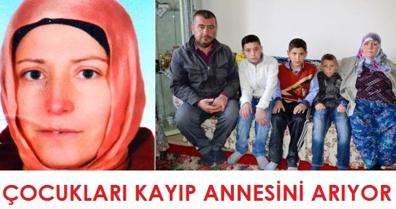 Çocuklar Kayıp Annesinden Haber Alamıyor