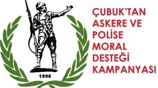 Çubuk'tan Askere ve Polise Moral Desteği Kampanyası