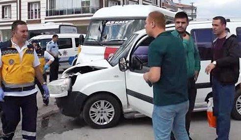 cubuk trafik kazalari 8 yarali