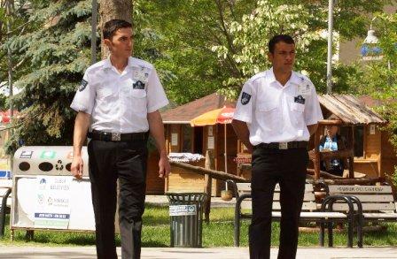 cubuk parklara yeni guvenlik personelleri