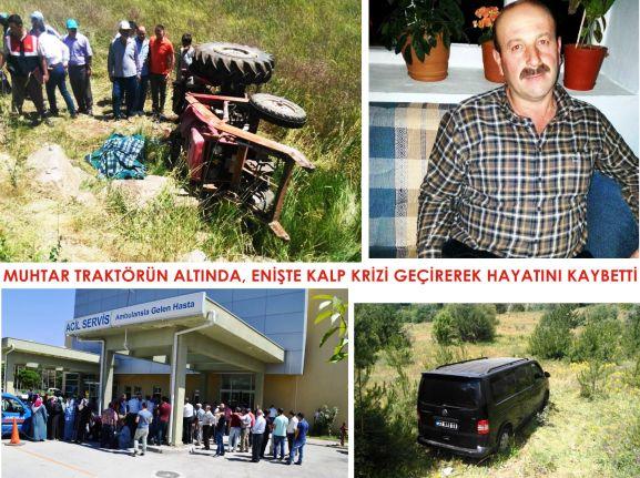 Karaçam ve Yeşilkent' te Acı Olayda 2 Kişi Hayatını Kaybetti