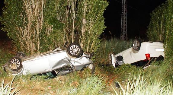 Ankara Yolu Üzerinde Kazada 6 Kişi Yaralandı