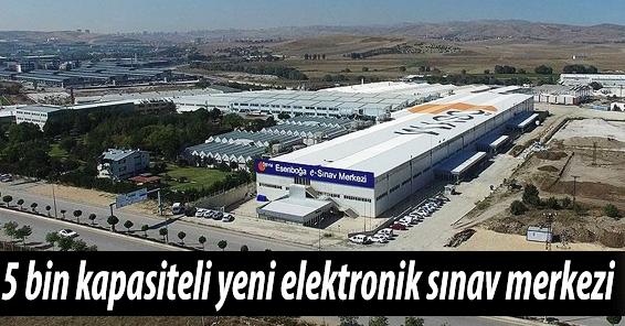 ÖSYM'den Elektronik Sınav Merkezi