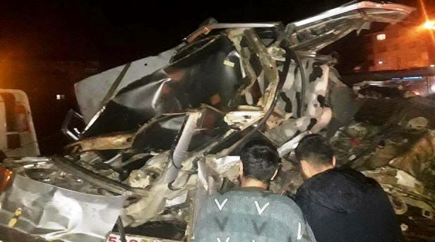 Komşu İlçe Akyurt'ta Feci Kaza da 5 Ölü 1 Yaralı