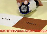 Çubuk Referandum Sonuçları