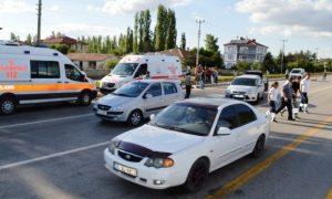 Çubuk'ta Trafik Kazalarında 11 Kişi Yaralandı