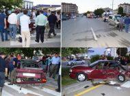 Mezbaa Yolu Sanayi Kavşağında Kaza: 4 Yaralı