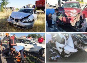 Çubuk'ta Bayram Kaza Bilançosu: 10 Yaralı