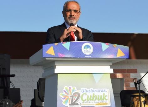 Yalçın Topçu Çubuk Kültür ve Turşu Festivalinde