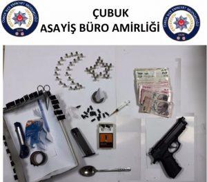 Çubuk'ta Uyuşturucu Operasyonu: 3 Kişi Tutuklandı