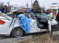 Çubuk'ta Trafik Kazası: 1 Ölü, 3 Yaralı