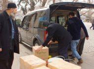 Çubuk'tan Afrin Cephesine Malzemeler Gönderildi