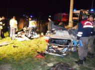 Çubuk-Ankara yolunda kaza: 3 ölü 2 yaralı