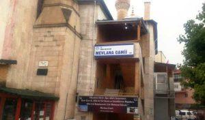 Mevlana Cami Minaresine Yıldırım İsabet etti