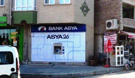 Bank Asya Çubuk'a Atm Açtı