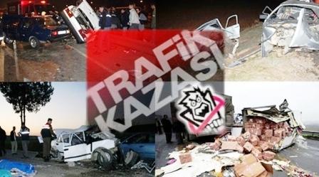 Çubuk'ta 2 Ayrı Trafik Kazası: 7 Yaralı