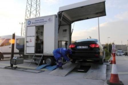 Aracını Muayene Ettireceklere Mobil İstasyon