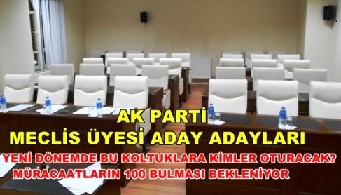 Ak Parti Çubuk Belediye Meclis Üyesi Talipleri