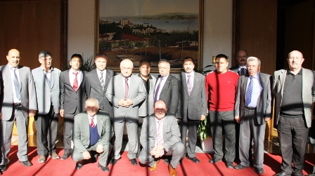 Çubuk STK Meclis Başkanı'na Fakülte Ziyareti