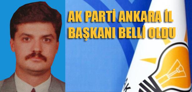 Ankara'nın Yeni İl Başkanı Nedim Yamalı