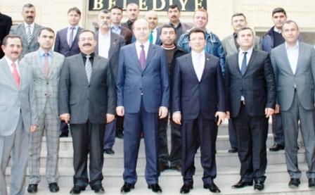 Ankara Valisi Çubuk'a Geldi