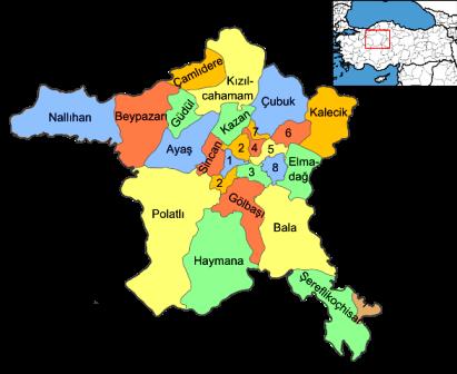 Ankara İlçeleri Bilgileri