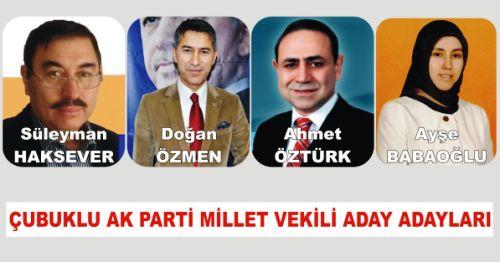 Çubuklu Milletvekili Aday Adayları