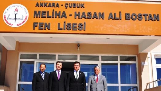Çubuk Fen Lisesi Türkiye Birincisi Çıkardı