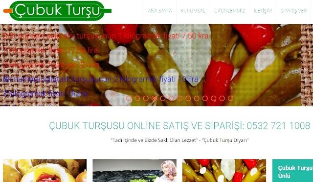 Çubuk Turşusu | Çubuk Turşuları | Turşu Online Satış Sitesi Açıldı