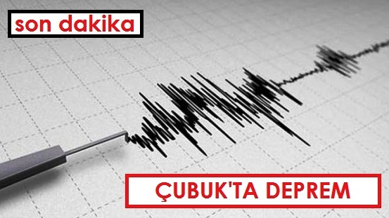 Çubuk'ta üst üste 3 deprem