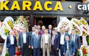 Karaca Cafe Bistro Fırın Market Hizmete Açıldı