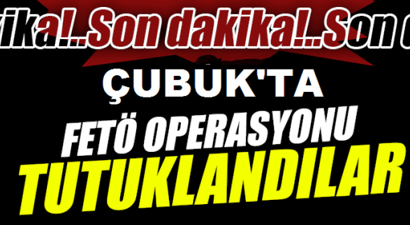 Fetö Operasyonunda Gözaltına Alındılar