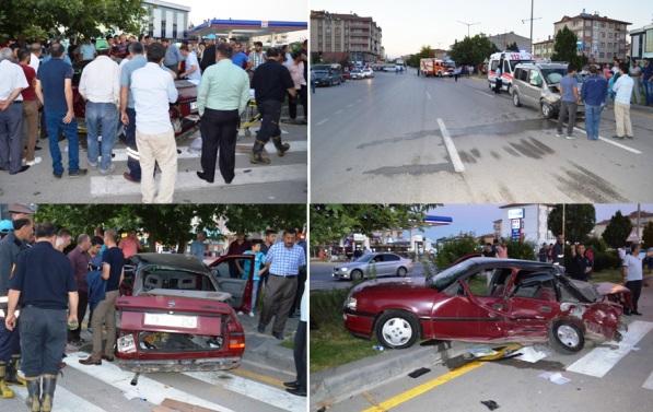 sanayi kavsagi cubuk trafik kazasi