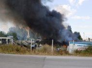 Belediyenin Hurda Deposunda Yangın