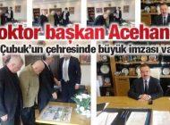 Acehan, 3,5 Yılda Ankara Çubuk'u Hizmete Boğdu
