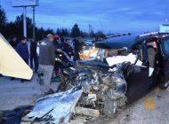 Yenice'de Feci Kaza: 4 ölü 1 Yaralı