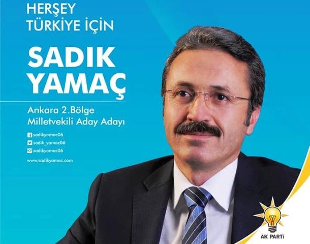 Sadik Yamac Ankara Millet Vekili Aday Adayi Oldu
