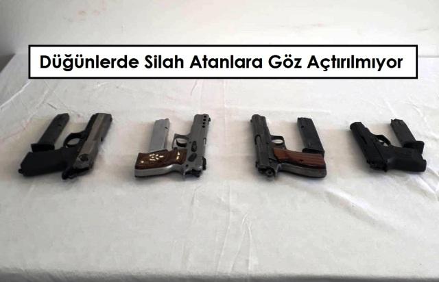 Dugunlerde Silah Atanlara Goz Actirilmiyor