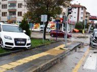 Çubuk'ta zincirleme trafik kazası: 3 Yaralı