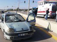 Otomobil Yayaya Çarptı: 1 Ağır Yaralı