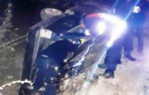Otomobil Takla Attı: 1 Ölü, 2 Yaralı