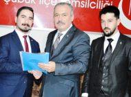 Çubuk BBP İlçe Başkanı Değişti