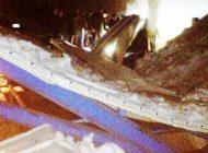 Çubuk'ta Ahırın Çelik Çatısı Çöktü