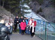 Tam Dolan Çubuk-2 Barajına Ziyaretçi Akını