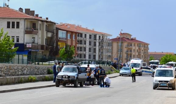Çubuk'ta araç içinde ceset bulundu